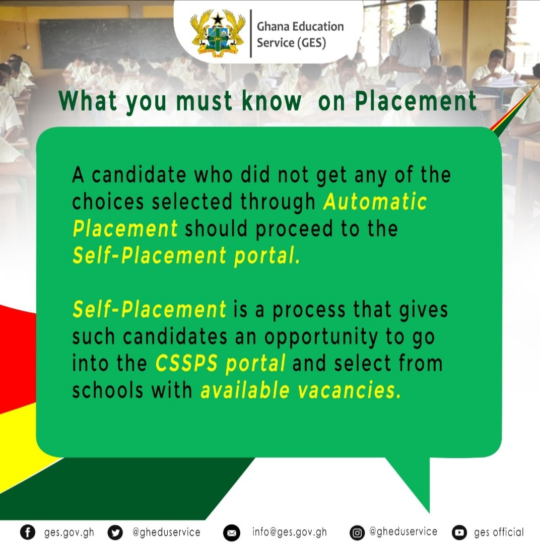 Facts about 2021 SHS Placement that you should know 1