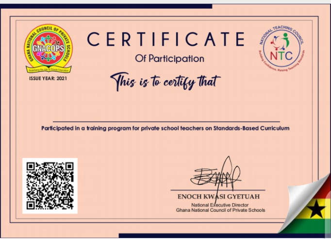 Teacher Professionalism: GNACOPS and NTC jointly issue Certificate to Private School Teachers 4