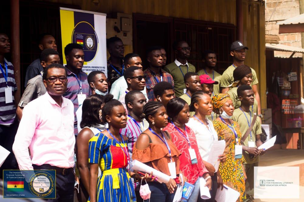 Groups end one-month Financial Awareness and Financial Literacy Advances in Ghana 2