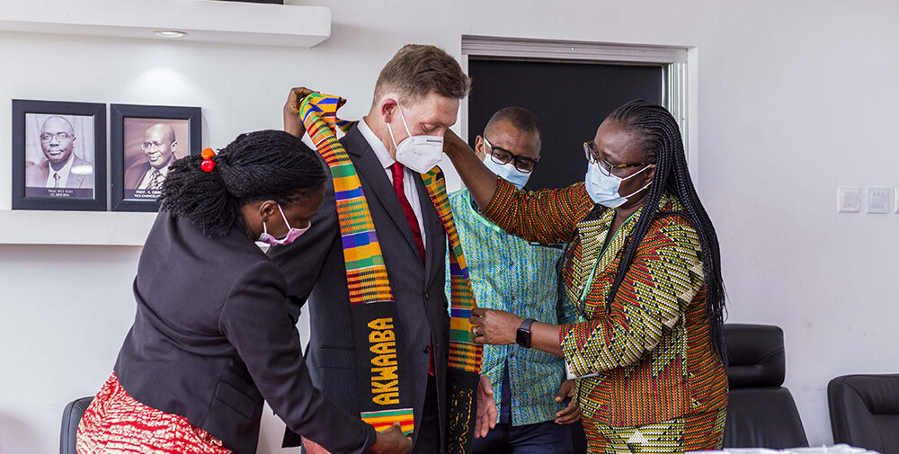 KNUST Partners Aurelia Holding AG Germany for KNUST Centre for Capacity Development in Automobile and Manufacturing