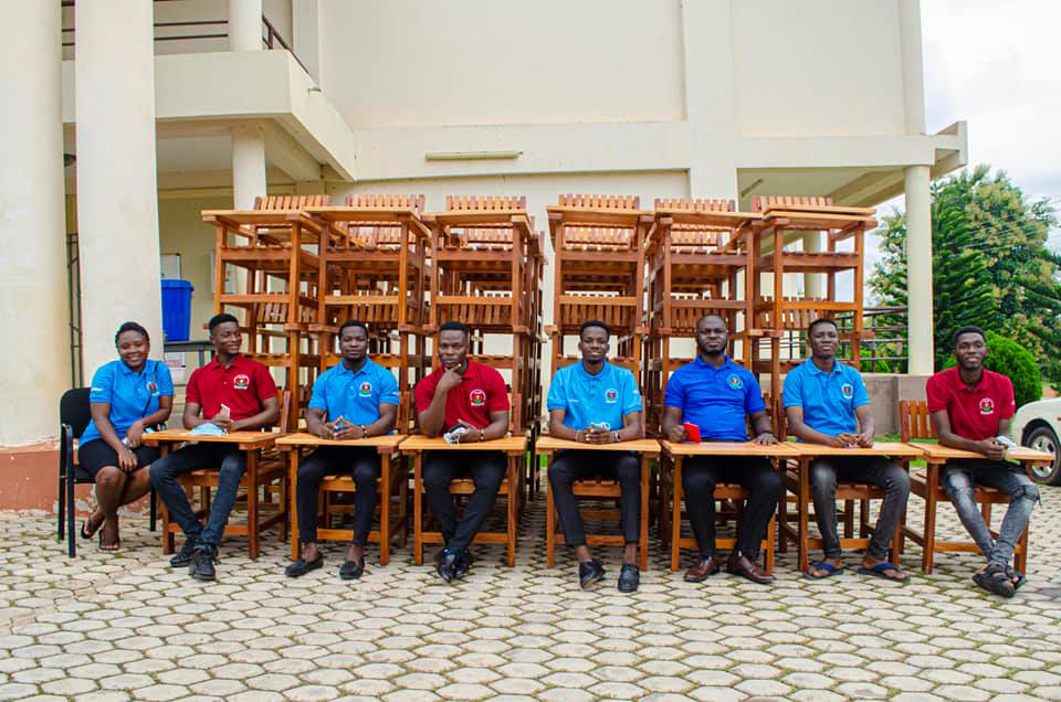 Exclusive: 2019-2021 St Francis College SRC donates Classroom Furniture to College   3
