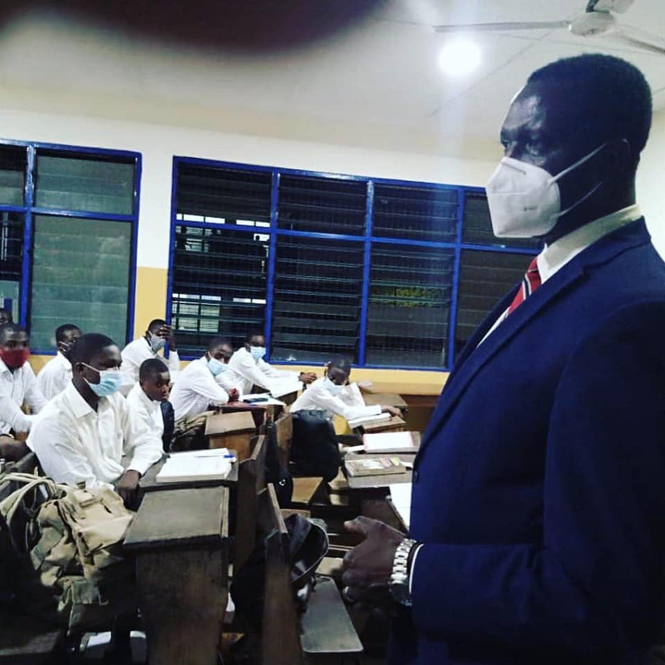 Adutwum teaches at PRESEC - Legon; says there is no food shortage   3