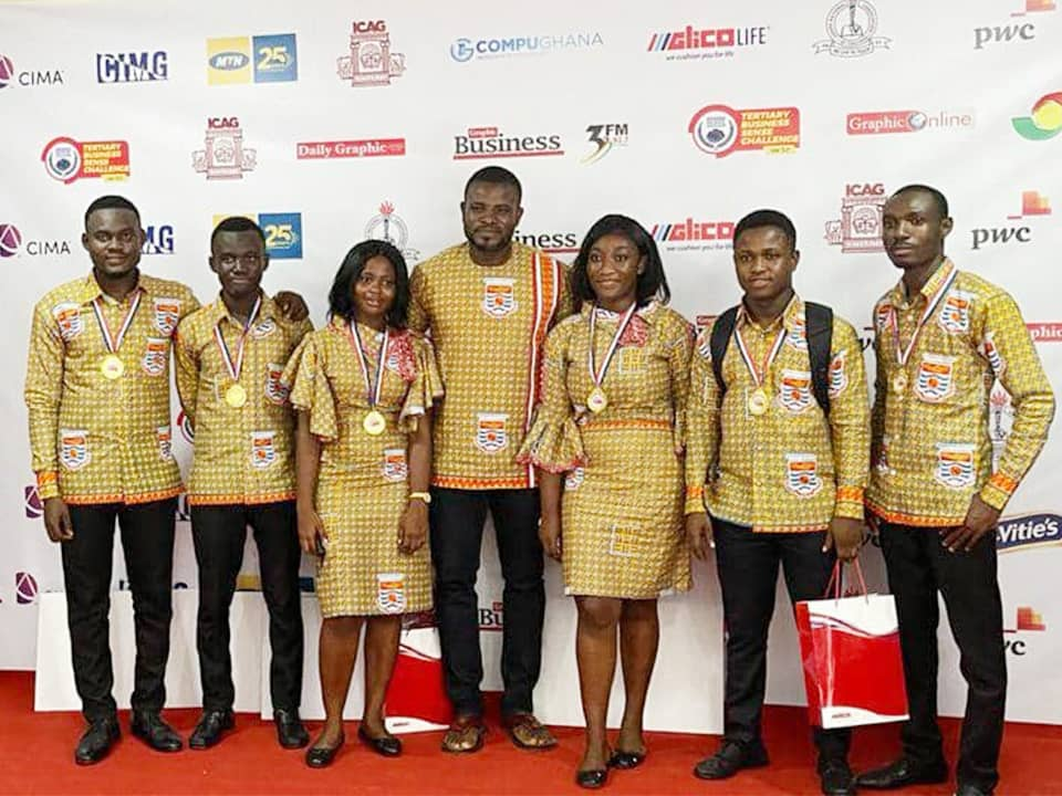 JUST IN: UCC wins 3rd Edition of Tertiary Business Sense Challenge | 1