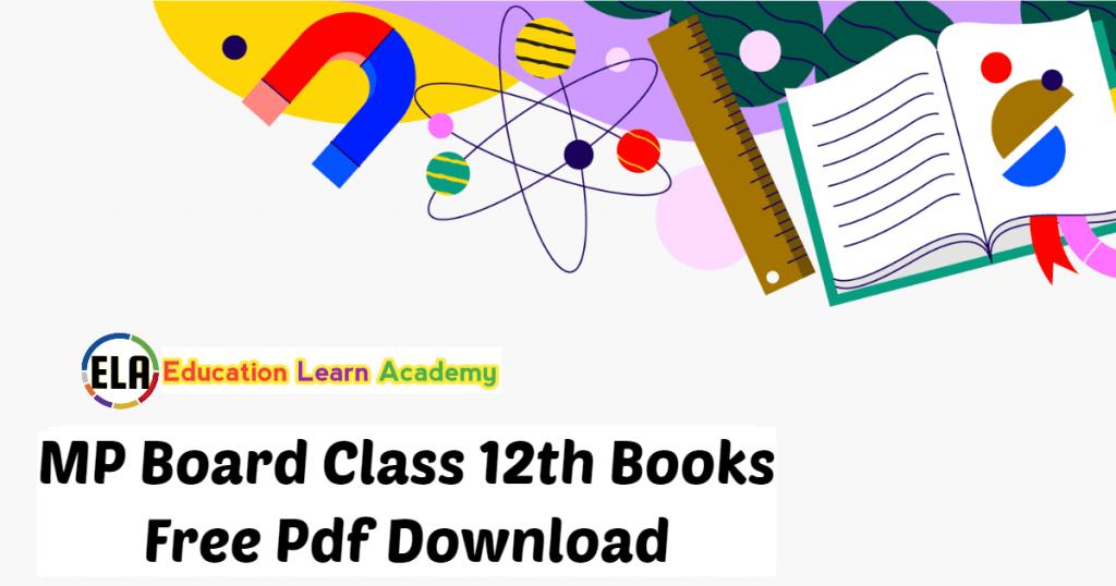 MP Board Class 12th Books