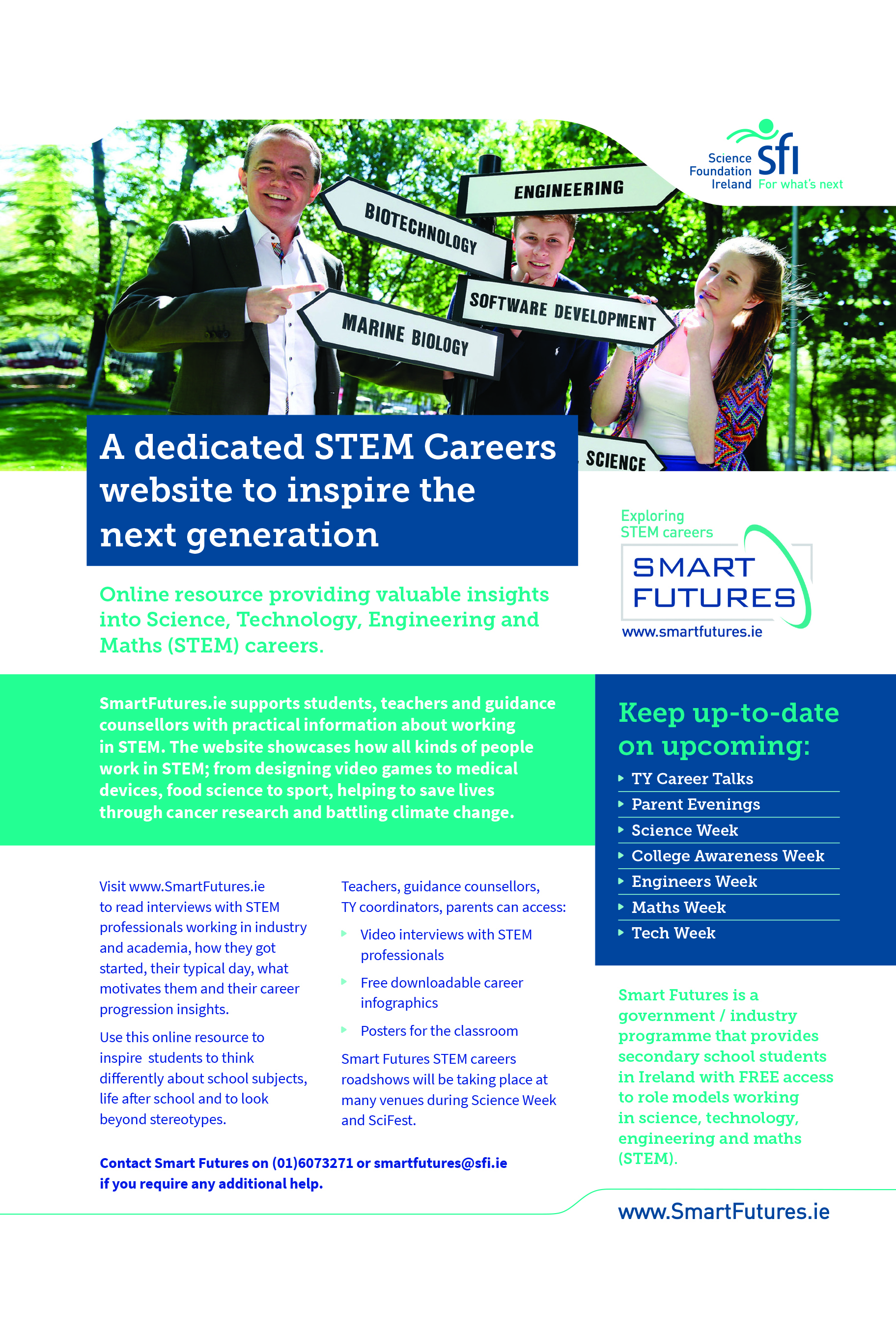 Smart Futures STEM Ad