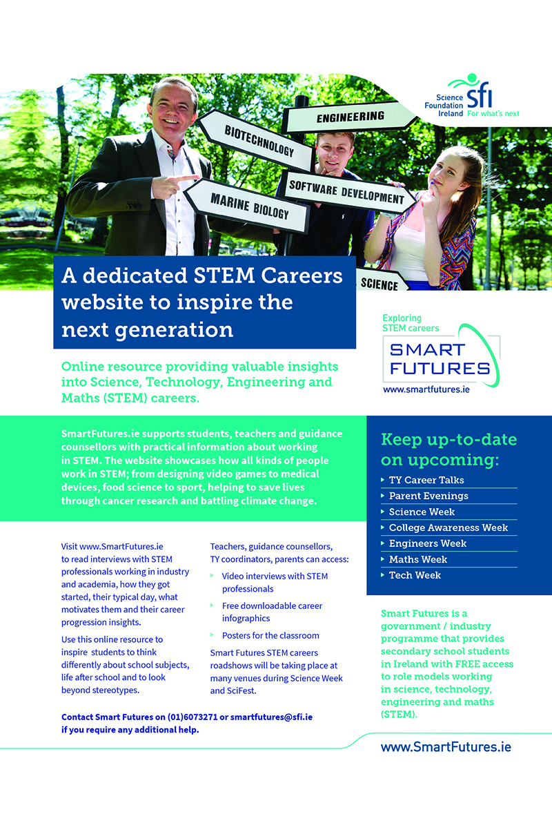 Smart Futures STEM ad zx