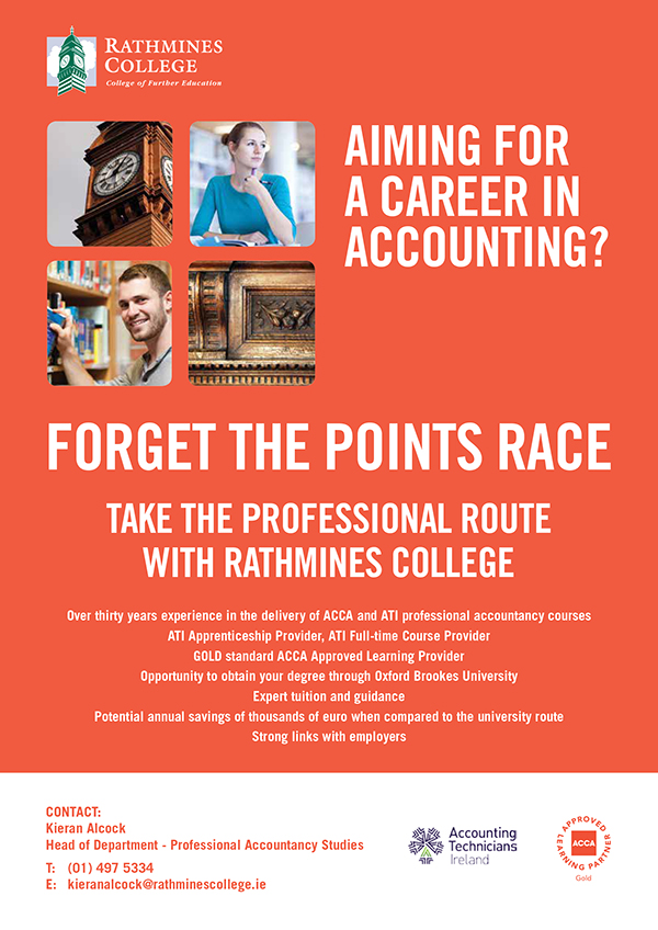 Rathmines College ad zx