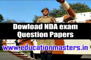 nda exam 2016 practice set test paper