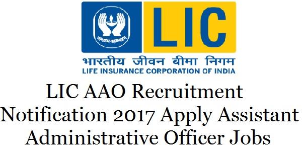 LIC-AAO-Recruitment-Notification-2017