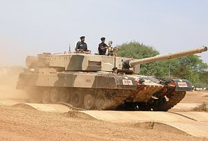 India's Arjun Main Battle Tank