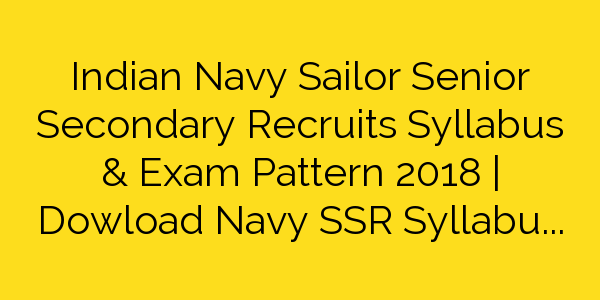 Indian Navy Ssr Book Pdf