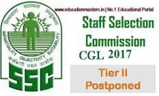SSC CGL Date