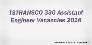 TSTRANSCO AE recruitment 2018