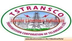 TSTRANSCO JLM Syllabus 2018