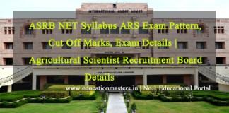 ASRB-ASR-NET-syllabus