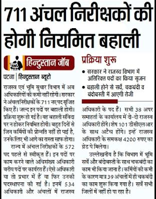 Bihar circle inspector jobs