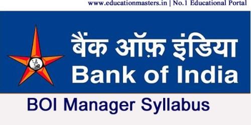 Bank-of-India-syllabus
