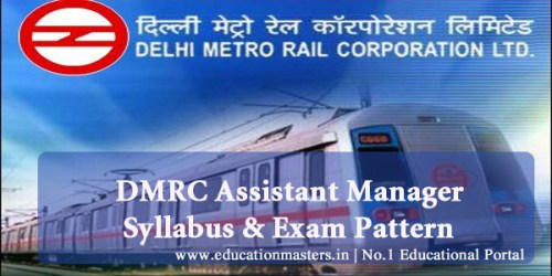 DMRC-Assistant-manager-syll