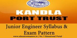 Kandla-port-syllabus