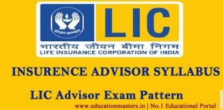LIC-advisor-syllabus