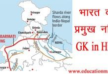 river gk in hindi