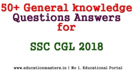 gk for ssc cgl 2018