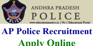 AP State Level Police Recruitment