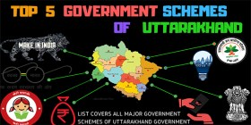 Top 5 uttarakhand government schemes