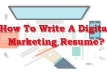 How To write Digital Marketing Resume