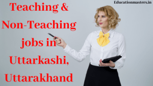 Teaching and Non Teaching staff selection