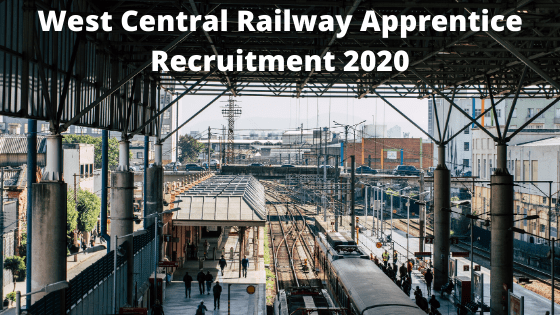 West Central apprentice Recruitment 2020