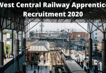 West Central apprentice Recruitment 2020