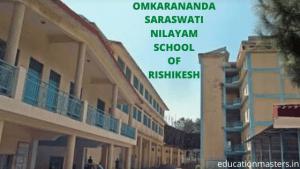 OMKARANANDA SARASWATI NILAYAM SCHOOL OF RISHIKESH
