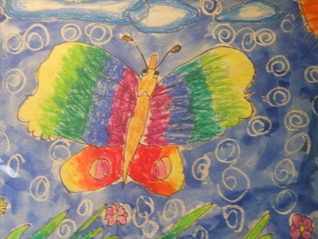 तितली की तस्वीर, पाबुला, तितली को गरासिया भाषा में पाबुला कहते हैं।