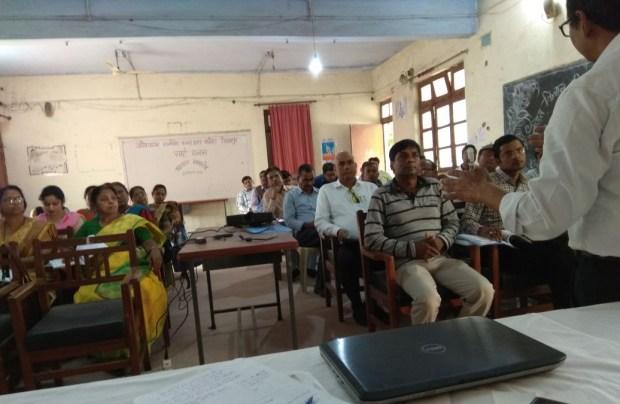 गोरखपुर में शिक्षक प्रशिक्षण