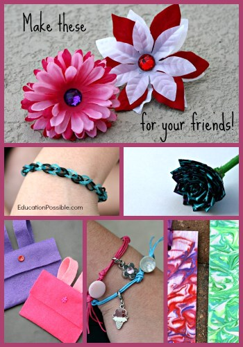 How to make cute and easy flower pens 6 gifts girls can make their friends education possible mightylinksfo