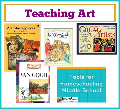 Tools For Homeschooling Middle School Teaching Art Education Possible