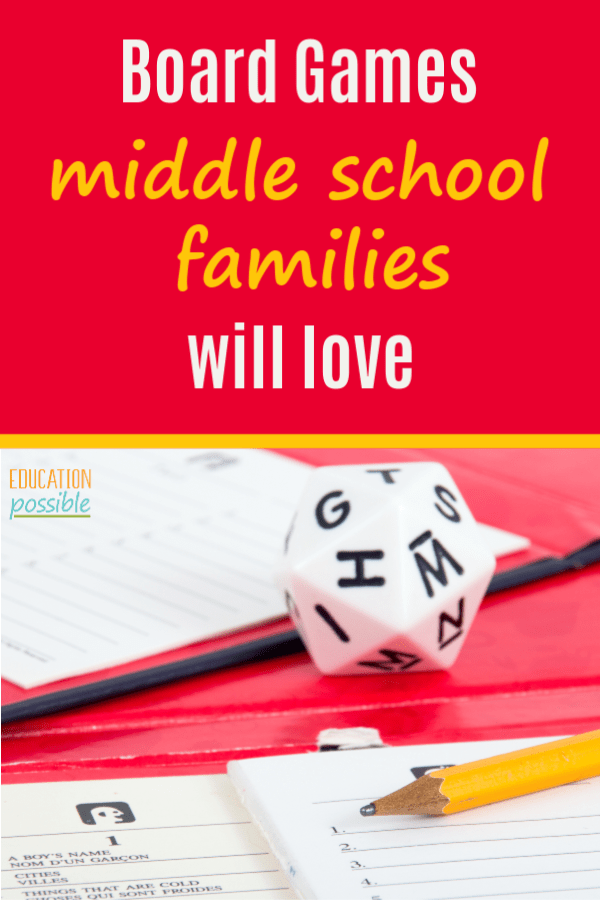 6 Board Games For Middle School Families