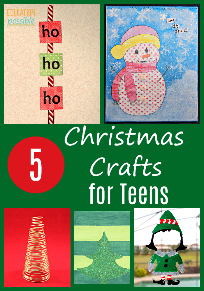 Easy Christmas Crafts For Teens