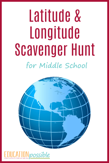 Geography activities latitude and longitude scavenger hunt geography activities latitude and longitude scavenger hunt want a fun way to review latitude gumiabroncs Image collections