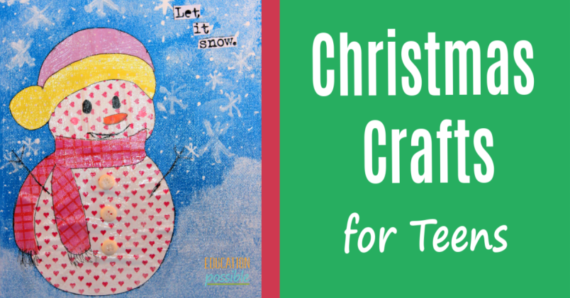 Simple Christmas Crafts.Christmas Crafts For Teens