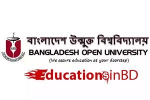 বাংলাদেশ উন্মুক্ত বিশ্ববিদ্যালয় Bangladesh Open University