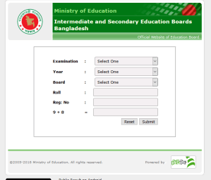 SSC Result 2019 All Education Board Results Bangladesh