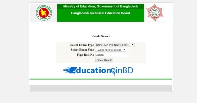 BTEB Result 2018 For Diploma In Engineering Education 2018