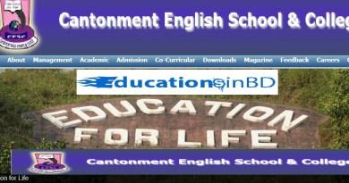 Cantonment English School & College Admission Circular Result 2019 Session.CESC Admission Test Notice Update at CESC Admission website– http://www.cesc.edu.bd