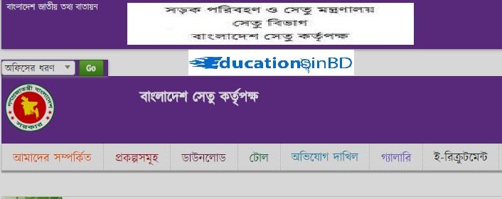 Bangladesh Bridge Authority Job Circular Result -2019