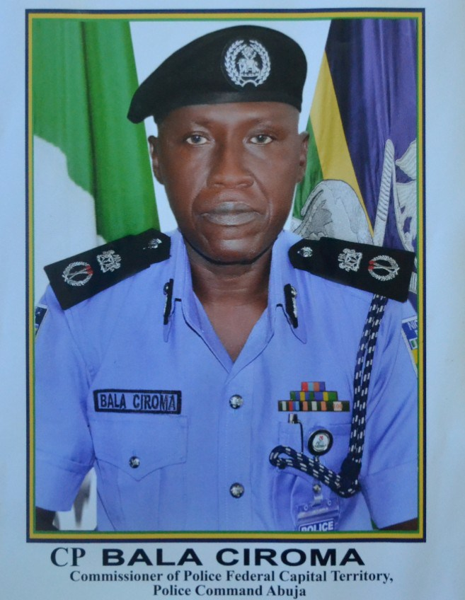 Bala Ciroma Commissioner Police Federal Capital Territory Fct