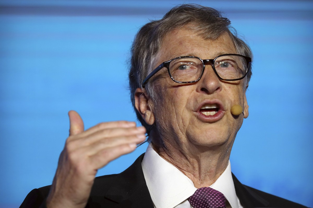 Bill Gates steps down from Microsoft board to focus on philanthropy