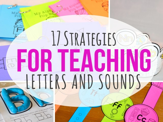 Teaching Letters And Sounds Here Are