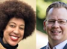 Washington state OSPI candidates Erin Jones and Chris Reykdal